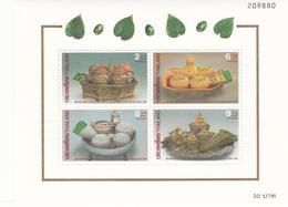 Thailand SS 89 1994 Letter Writing Week, Souvenir Sheet ,mint Never Hinged - Thailand