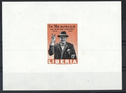 Liberia Sir Winston Churchill (436393) - Sir Winston Churchill