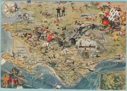 CPM: LA PRESQU' ÎLE GUERANDAISE (Dpt.44):  Peinture De GUILLAUME.   (E 409) - Maps