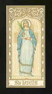 Image Pieuse: SAINTE LUCIA (Ref.41771) - Images Religieuses