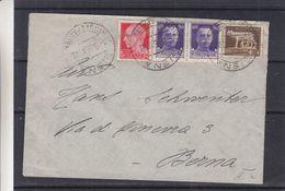 Italie - Lettre De 1936 - Oblit Siena - Exp Vers Bern - Louve - Storia Postale