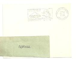 MORBIHAN  - Dépt N° 56 = QUESTEMBERT 1976 = Flamme Type II = SECAP Illustrée  ' CAMPING - MONUMENTS' - Postmark Collection (Covers)