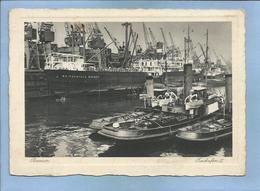 """Bremen Freihafen II Mit Schiffe """"Weissenfels Bremen"""" 2 Scans - Bremen"""