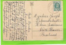 4 Poststukken Type Houyoux Met Sterstempels (ref114+) - Sterstempels