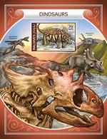 MALDIVES 2018 - Dinosaurs S/S Official Issue - Prehistorisch
