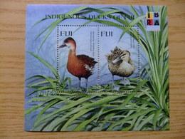 FIDJI 1999 FAUNA Canards Patos Ducks Yvert Bloc 32 ** MNH - Fiji (1970-...)