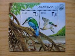 FIDJI 1994 FAUNE Martin Pêcheur Oiseau Pajaro Birds Yvert Bloc 13 ** MNH - Fiji (1970-...)