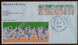 Wallis Et Futuna - FDC 1991 - YT Aérien N°171 - Roland Garros / Tennis / Sport - FDC