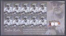 B14. Union Island - MNH - Famous People - Babe Ruth - Célébrités