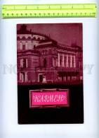 207464 RUSSIA CARMEN Bizet OPERA Old Brochure W/ Illustrations - Calendars