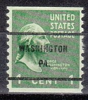 USA Precancel Vorausentwertung Preo, Bureau Pennsylvania, Washington 839-61 - Vereinigte Staaten