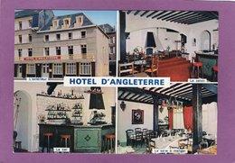 76 FECAMP Hôtel D'Angleterre Restaurant  Gastronomique  Bar Salon Vendue Dans L'état : Gros Plis Coin Inférieur Droit - Fécamp