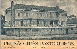 PORTUGAL -- FATIMA --  Pensao Trës Pastorinhos - Santarem
