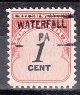 USA Precancel Vorausentwertung Preo, Locals Pennsylvania, Waterfall 841 - Vereinigte Staaten