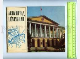207755 USSR LENINGRAD Guide Old Brochure W/ Circuit Maps - Calendars