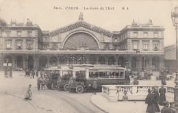 CPA - Paris - La Gare De L'Est - Metropolitana, Stazioni