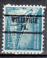 USA Precancel Vorausentwertung Preo, Locals Pennsylvania, Wellsville 734 - Vereinigte Staaten