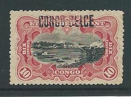 Etat Indépendant 31 L 2 Met Plakker - Congo Belge