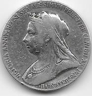 Grande Bretagne - Victoriac- 1877 - Argent - 1816-1901 : Frappes XIX° S.