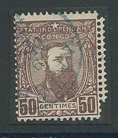 Etat Indépendant Leopold II Nr.9 Gestempeld - 1884-1894 Précurseurs & Leopold II