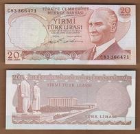AC - TURKEY  6th EMISSION  20 TL C UNCIRCULATED - Turquie