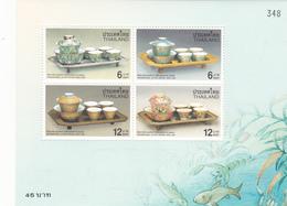Thailand SS 183 International Letter Writing Week, Souvenir Sheet ,mint Never Hinged - Thailand