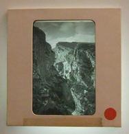 Plaque De Verre Positive Sous Carton - Gorges Du Verdon - Rougon - Le Point Sublime - Glass Slides