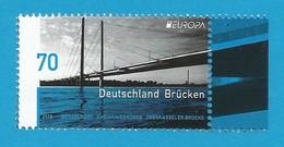 BRD  2018 , EUROPA CEPT Brücken - Postfrisch / MNH / (**) - 2018