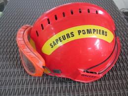 Casque De Pompier,pompiers, Gallet Ayant Servi - Firemen