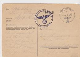DEUTSCHLAND   ~  WW2  ~   FELDPOST   ~   1942 - Documents