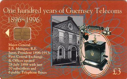 GUERNSEY ISLAND - Major General F. B. Mainguy, Tirage 26.000, Used - United Kingdom
