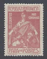 PORTUGAL  1915 TELEGPRAPH PARA OS POBRES Nº 1 - Télégraphes