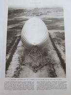 1931 Le Lancement De L AKRON  Dirigeable Ballon + Grottes Des Demoiselles Fées  Saint Bauzille De Putois - Vieux Papiers