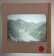 Plaque De Verre Positive Sous Carton - Hautes-Pyrénées - Aragnouet - Lac D'Orédon - Glass Slides
