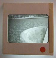 Plaque De Verre Positive Sous Carton - Hautes-Pyrénées - Aragnouet - Lac De Cap-de-Long - Le Barrage - Glass Slides
