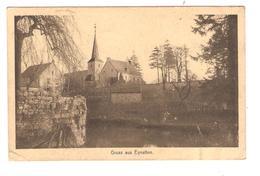 Belgique-België CP Canton De L'Est-Ostkanton Gruss Aus Eynatten Eglise  JS260 - Raeren