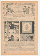 2 Scans 1909 Humour Foire De Landerneau Insecte Puce Animal Grosse Caisse / Marsouin Militaire Préfet De Police 216CH16 - Old Paper