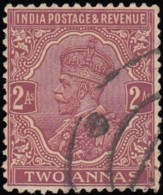 INDIA - Scott #126 George V (*) / Used Stamp - India (...-1947)