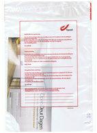 POSTE ACCIDENTEE.  ENVELOPPE TRILINGUE DE B POST. - Documents Of Postal Services
