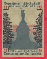 Allemagne 1 Notgeld  25 Pfenning Detmold  Lot N °1744   Dans L' état - Collections