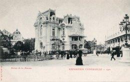 CPA   75   PARIS   EXPOSITION UNIVERSELLE-1900---PALAIS DE LA FEMME - Expositions