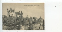Iteuil : Château D'Aigne - Pigeonnier Colombier (Vienne) Cp Vierge - France