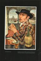 Selbstbildnis (nach Einem Gemälde Von Arthur Reffel)  / Druck, Entnommen Aus Zeitschrift /1936 - Books, Magazines, Comics