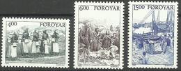 Faroe Islands - 1995 Rural Life Set Of 3 MNH **   SG 280-2   Sc 290-2 - Faroe Islands
