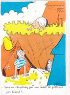 SIC  Ed Vaysse   -  HUMOUR  Camping  Tente Petanque  - CPSM  10,5x15  Neuve BE - Künstlerkarten
