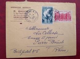 St Etienne Bador - Marcophilie (Lettres)
