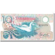 Billet, Seychelles, 10 Rupees, 1979, KM:23a, NEUF - Seychelles