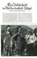 Eine Zuluhochzeit Im Tal Der Tausend Huegel / Artikel, Entnommen Aus Zeitschrift /1937 - Books, Magazines, Comics