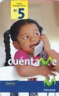 TARJETA TELEFONICA DE PANAMA (PREPAGO). CUENTAME (028) - Panama
