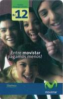TARJETA TELEFONICA DE PANAMA (PREPAGO). ENTRE MOVISTAR PAGAMOS MENOS (012) - Panama